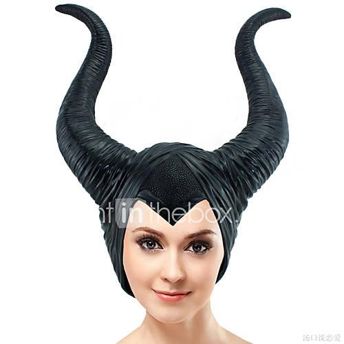 Mago/Bruja Tocados Accesorios de Halloween Unisex Festival/Celebración Disfraces de Halloween Negro Halloween Carnaval Día del Niño Un