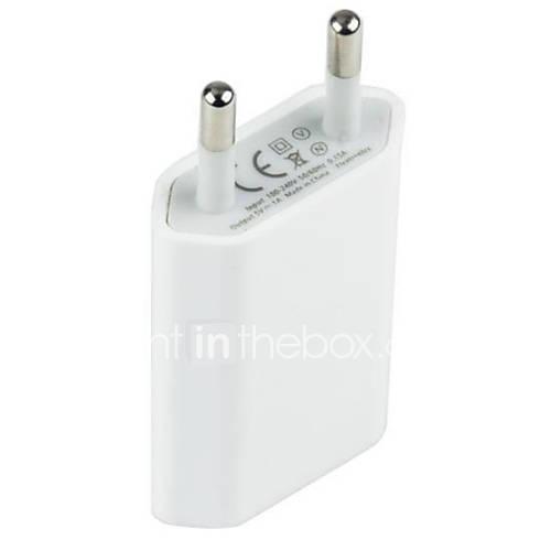 1 cargador del teléfono móvil del enchufe del u del puerto del usb para iphone 8 iphone 8 más (5v, 1.5a)