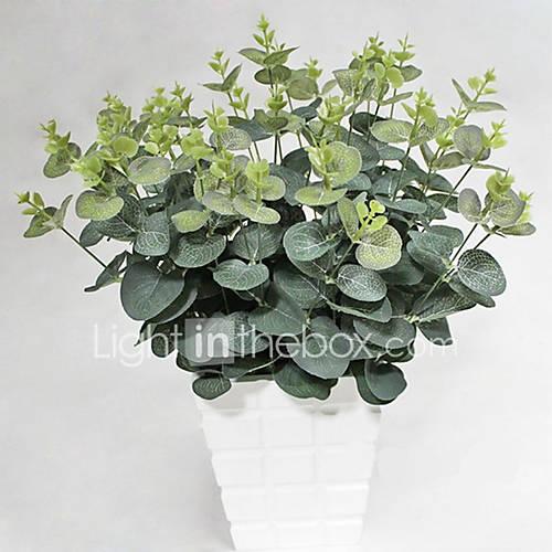 1 1 Rama Seda Plantas Flor de Mesa Flores Artificiales 48CM