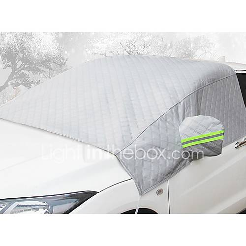 automotive,Car front windshield antifreeze cover anti-frost and snow thickening half