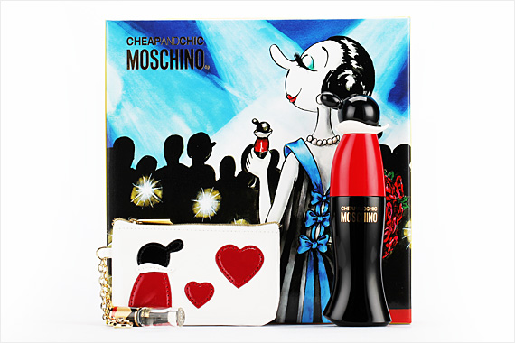 Review on Get with the Trend: Moschino ™ Cheap & Chic ™ perfume + Roller  Ball + Make Up Bag Deal